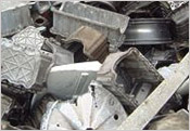 Aluminium Scrap Materials like shredded scrap, wheel scrap, die cast scrap, cans, etc - Image